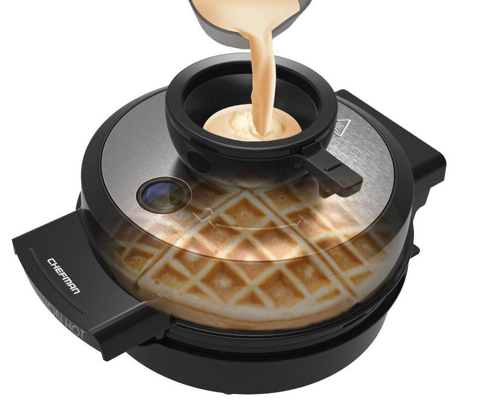 Perfect Pour Waffle Maker - http://coolthings.us