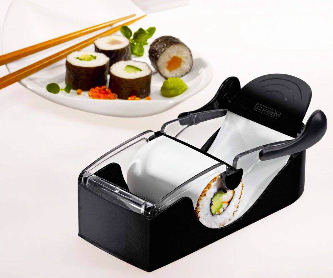 Perfect Sushi Roll Machine - http://coolthings.us