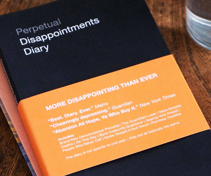 Perpetual Disappointments Diary - coolthings.us
