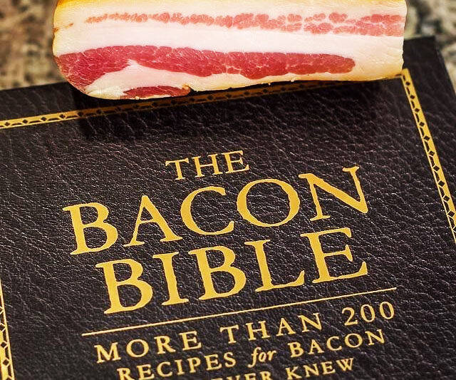 The Bacon Bible - coolthings.us