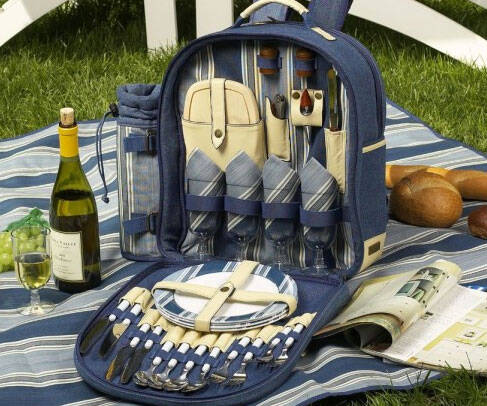 Picnic Backpack - http://coolthings.us