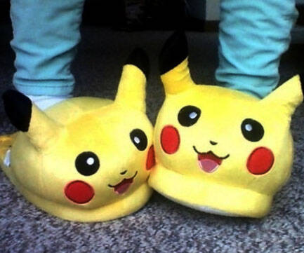 Pikachu Slippers - coolthings.us