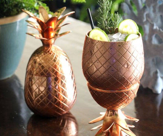 Pineapple Shaped Tumbler - http://coolthings.us