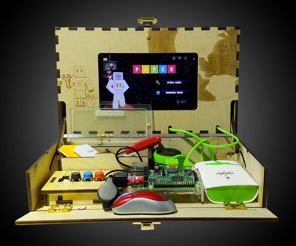Piper DIY Wooden Computer Kit - http://coolthings.us
