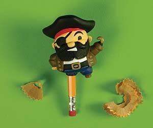 Pirate Leg Pencil Sharpener - http://coolthings.us