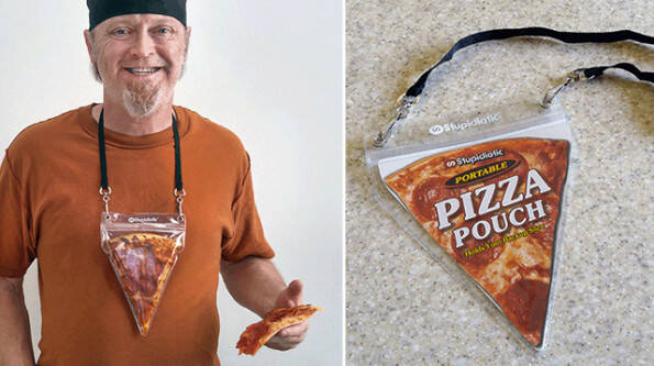 Portable Pizza Pouch - http://coolthings.us