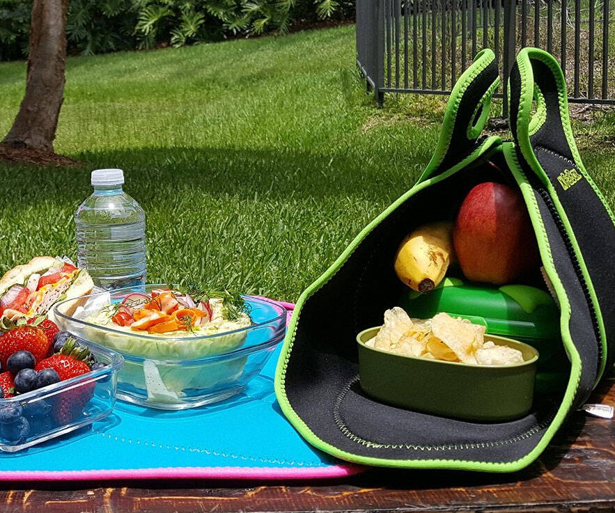 Fold Up Placemat Lunchbox - http://coolthings.us