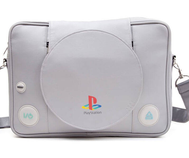 Playstation Console Messenger Bag - http://coolthings.us
