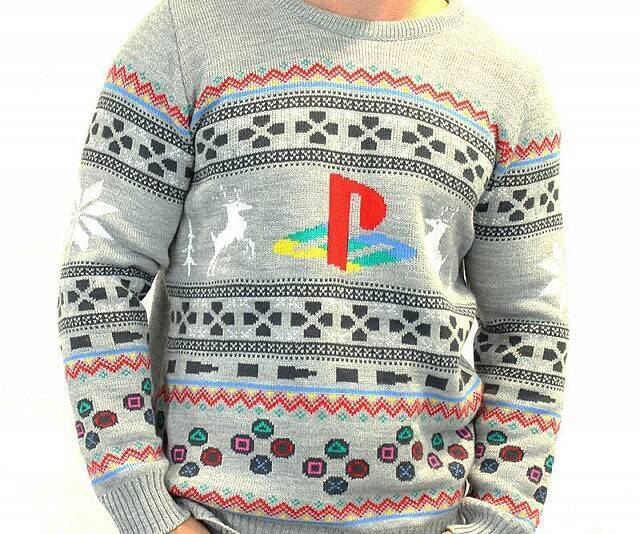 Playstation Ugly Christmas Sweater - http://coolthings.us