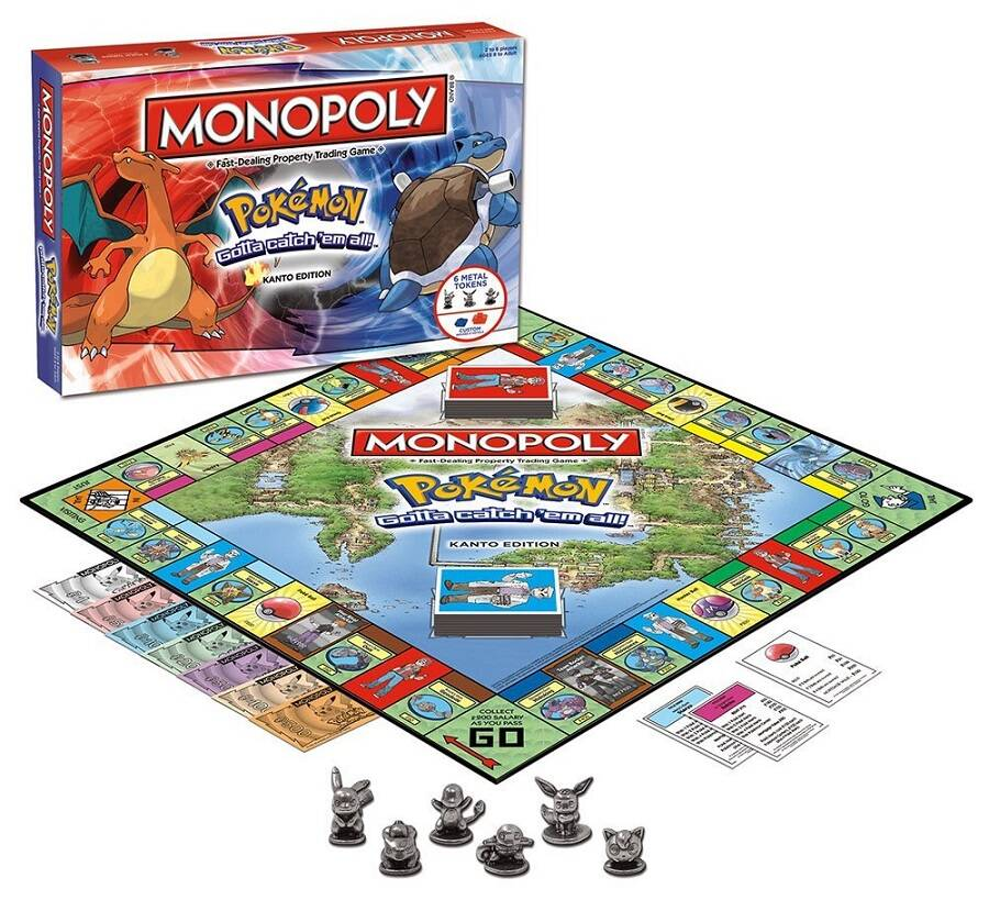 Pokemon Edition Monopoly - coolthings.us