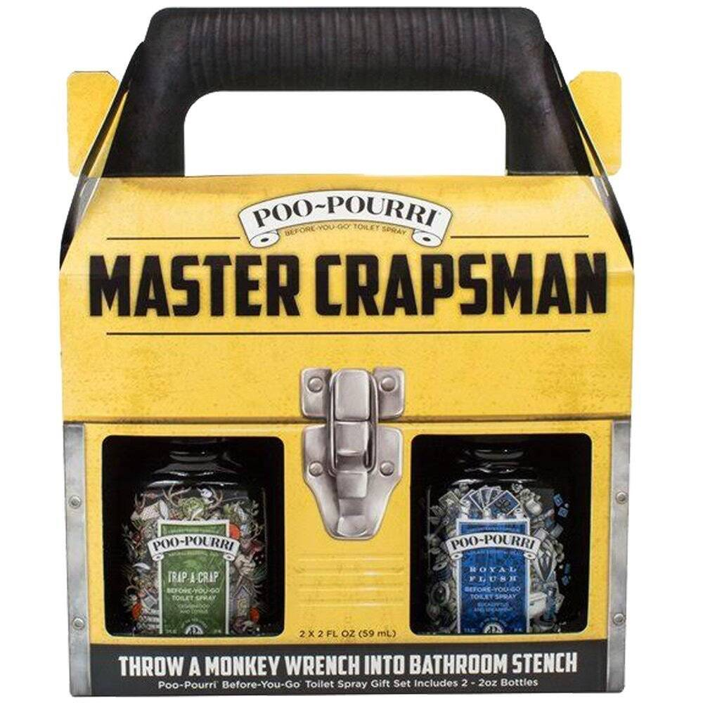 Poo-Pourri Master Crapsman Gift Set - http://coolthings.us