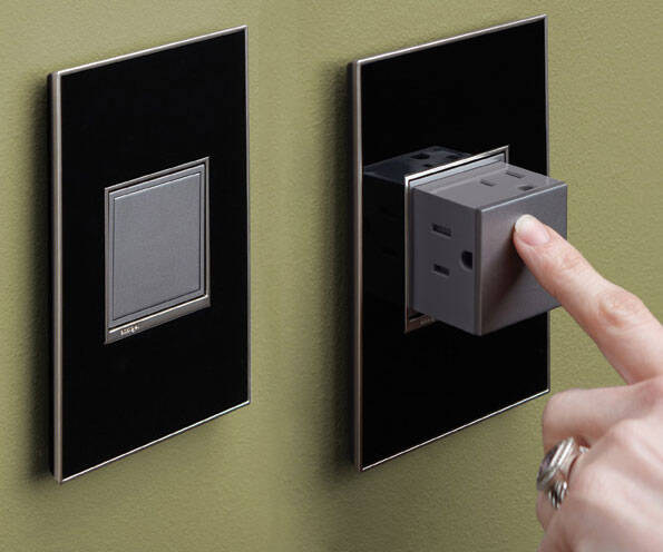 Pop-Out Electric Wall Outlets - http://coolthings.us