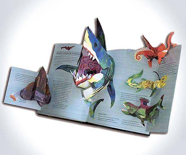 Pop-Up Encyclopedia of Sharks & Sea Monsters - http://coolthings.us