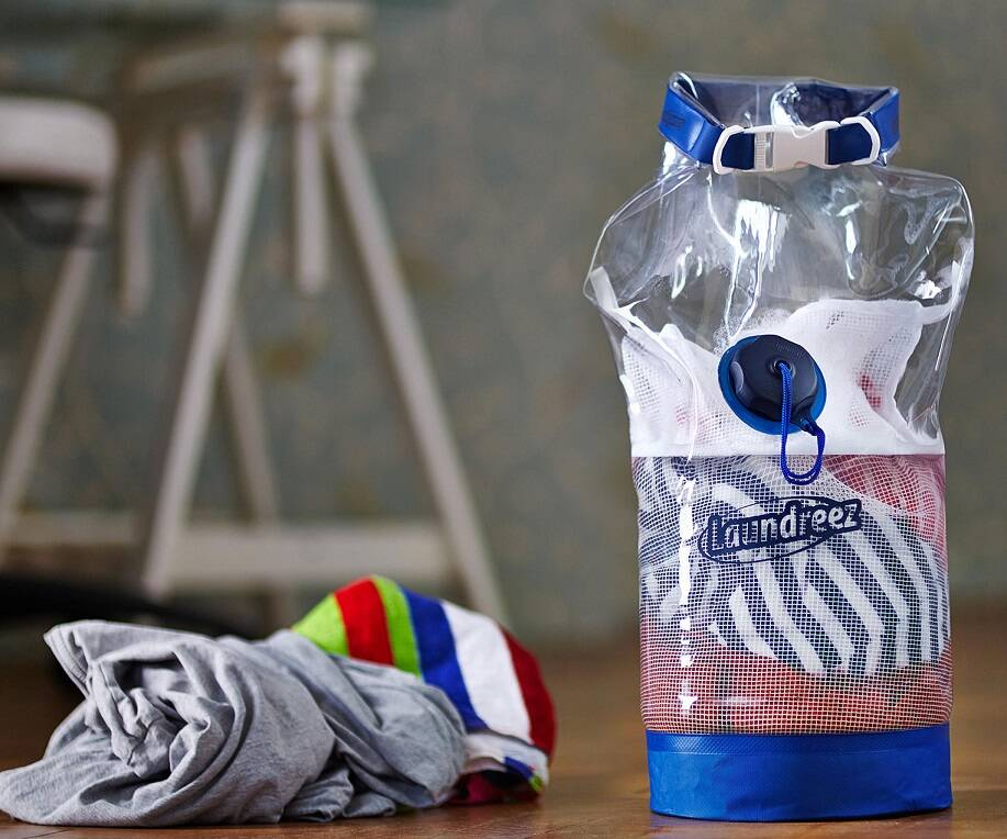 Portable Clothes Washer - http://coolthings.us