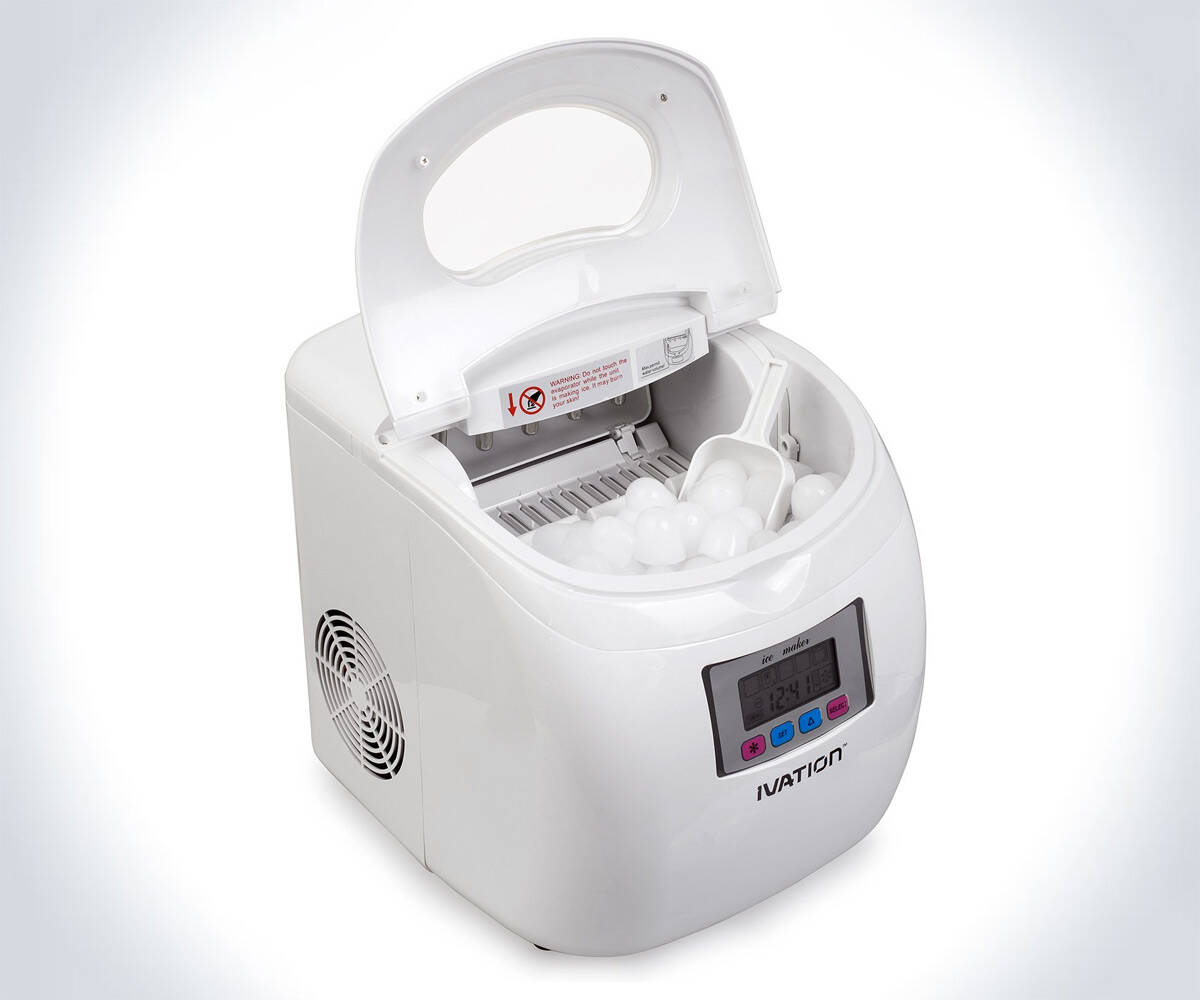 Portable Ice Maker - http://coolthings.us