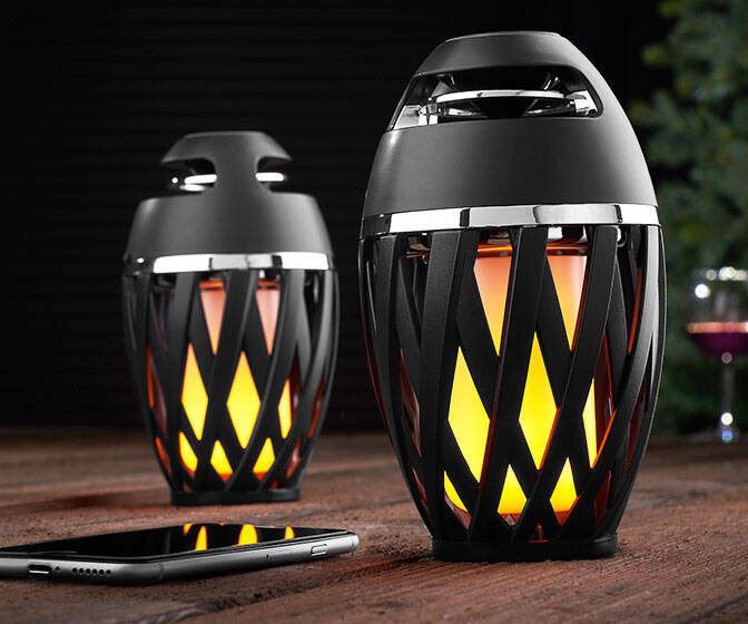 Portable LED Outdoor Speakers - http://coolthings.us