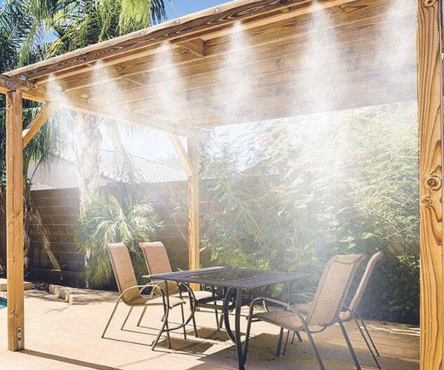 Portable Misting System - http://coolthings.us