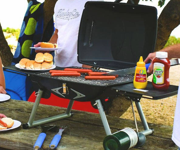 Portable Propane Grill - http://coolthings.us