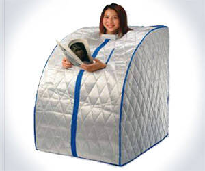 Portable Sauna - http://coolthings.us