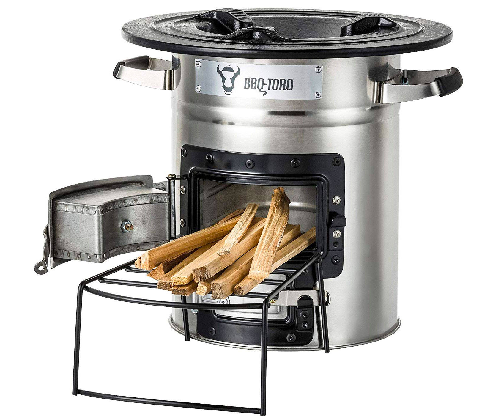 Portable Wood Burning Camp Stove - http://coolthings.us