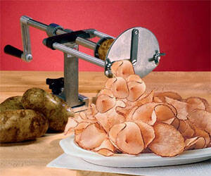 Potato Chip Cutter - http://coolthings.us