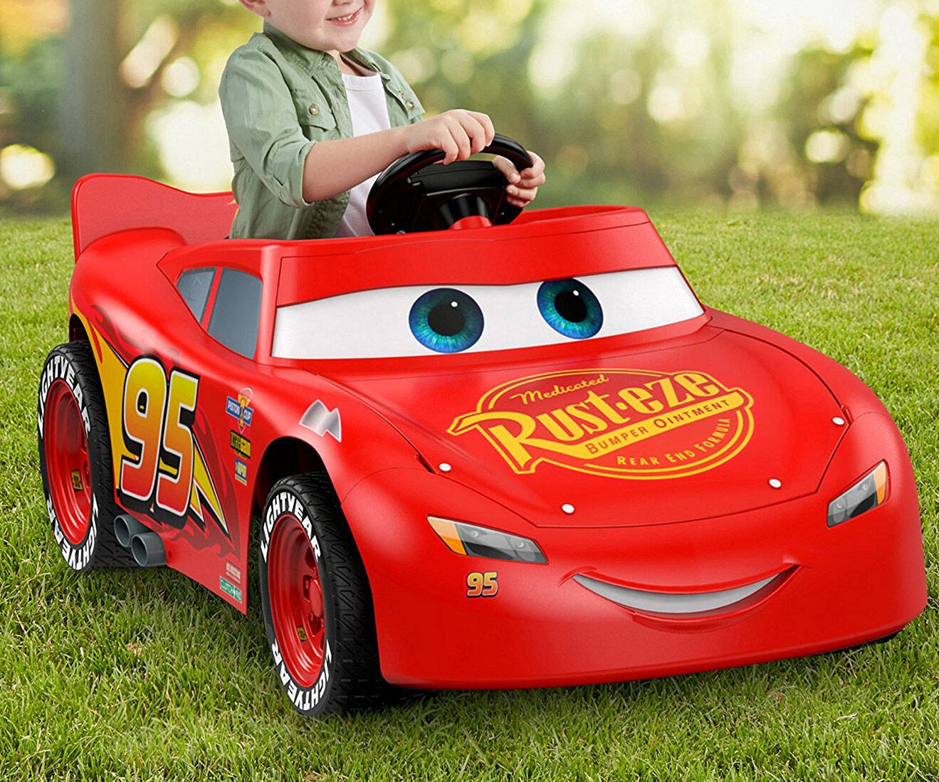Power Wheels Cars 3 Lightning McQueen