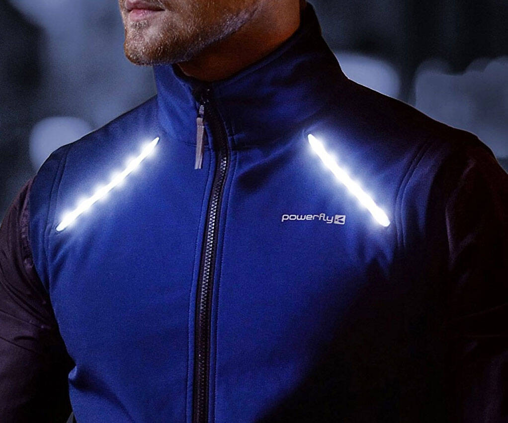 LED Reflective Cycling & Running Vest - coolthings.us
