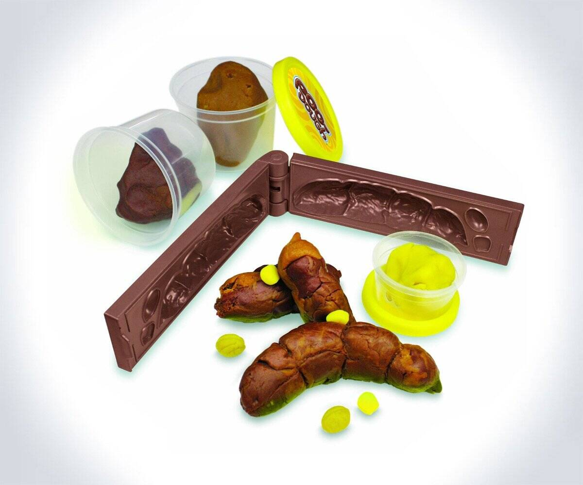 Play-Doh Fake Poop Mold - http://coolthings.us