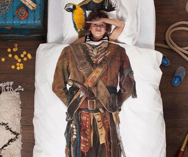 Pirate Duvet Cover - coolthings.us