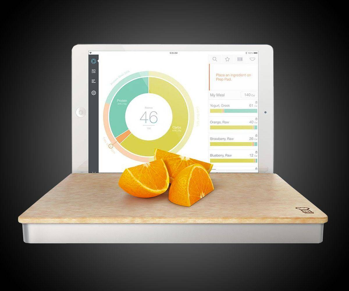Smart Food Scale Prep Pad - http://coolthings.us