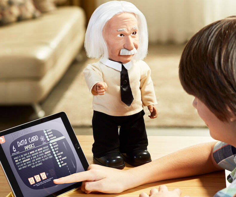 Albert Einstein Personal Genius Robot - http://coolthings.us