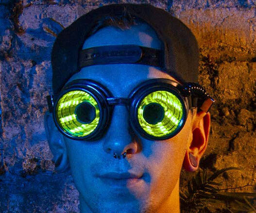 Programmable LED Glasses - coolthings.us