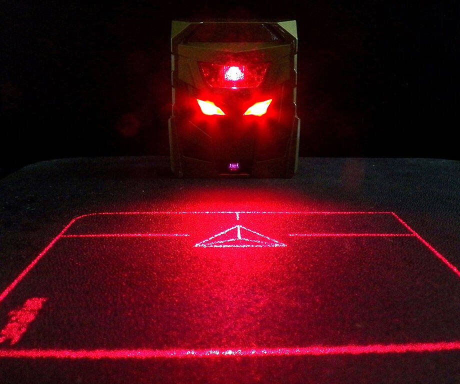 Infrared Projection Mouse - http://coolthings.us