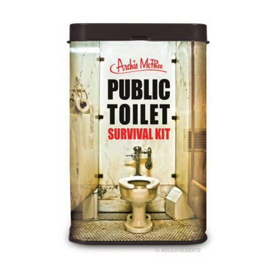 Public Toilet Survival Kit - http://coolthings.us