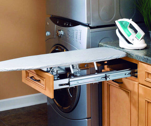 Pullout Ironing Boards - http://coolthings.us
