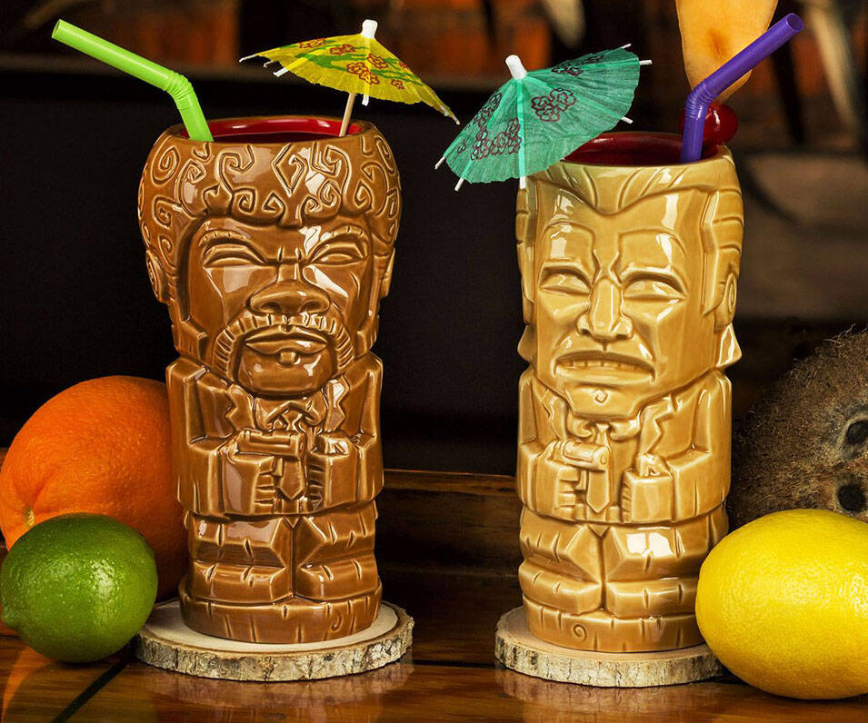 Pulp Fiction Tiki Mugs - http://coolthings.us