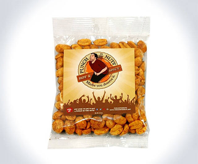 Punch in the Nuts Snack Mi