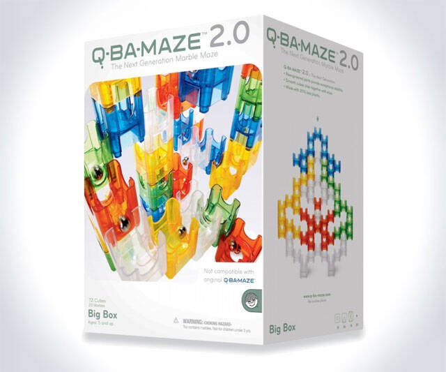 Q-Ba-Maze Marble Run - http://coolthings.us