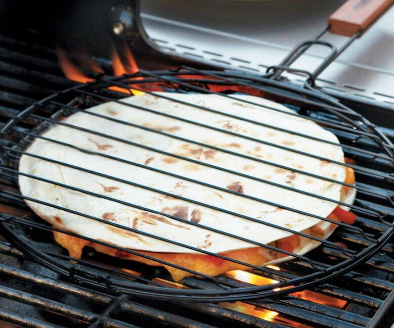 Quesadilla Grilling Basket - http://coolthings.us