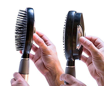 Quick Cleaning Hair Brush - http://coolthings.us