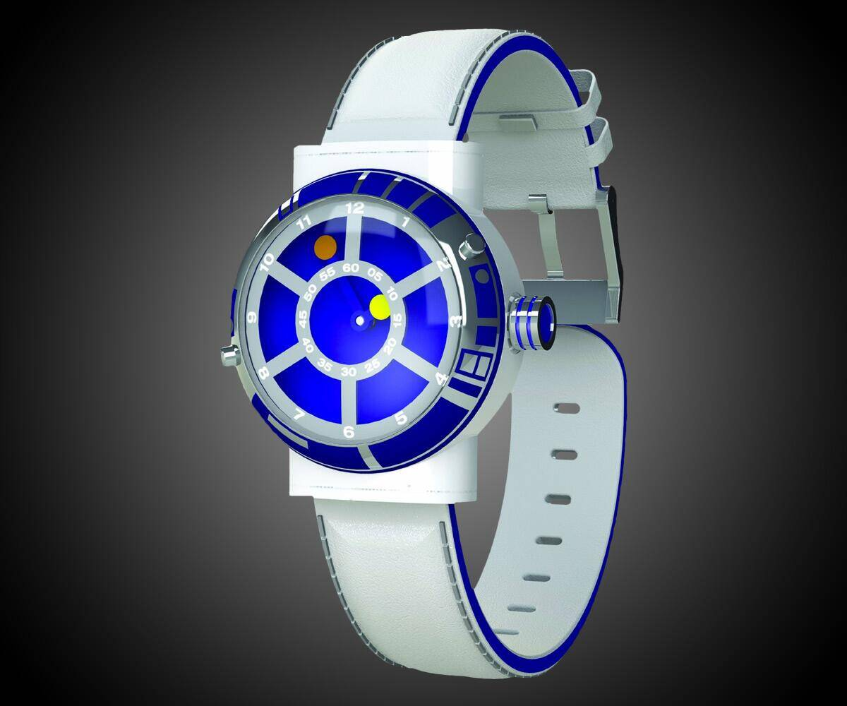 R2-D2 Collector's Watch - http://coolthings.us