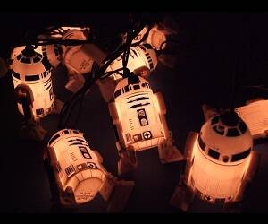 Mini R2-D2 Lights - http://coolthings.us