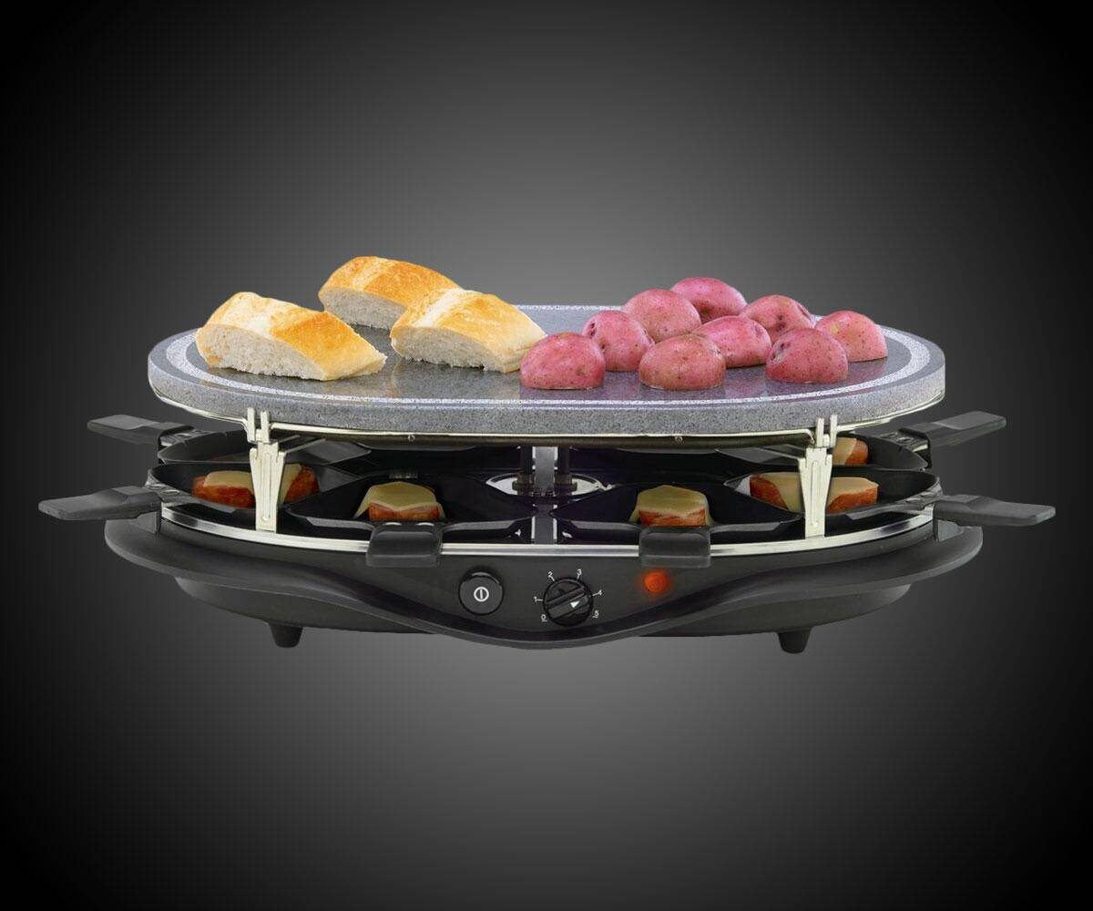 Raclette 8-Person Party Grill - http://coolthings.us