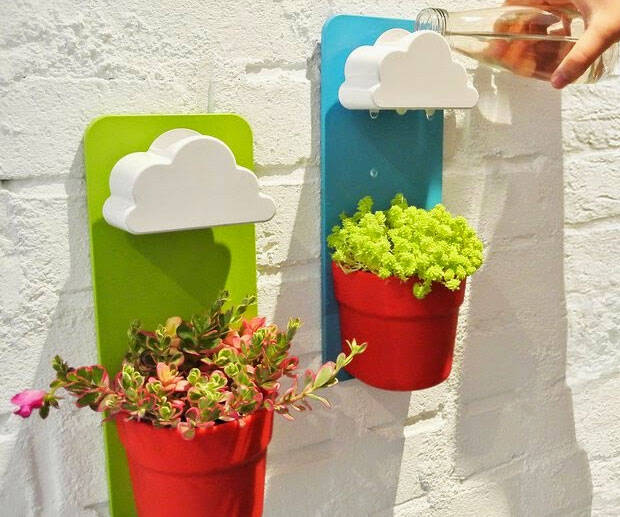 Rain Cloud Watering Pot - http://coolthings.us