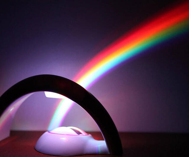 Rainbow Light Projector - http://coolthings.us