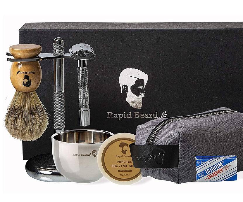 The All-In-One Wet Shaving Kit - coolthings.us