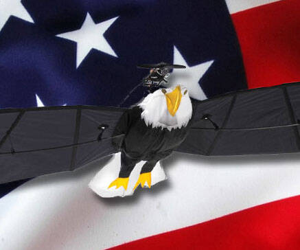 Remote Control Flying Bald Eagle - http://coolthings.us