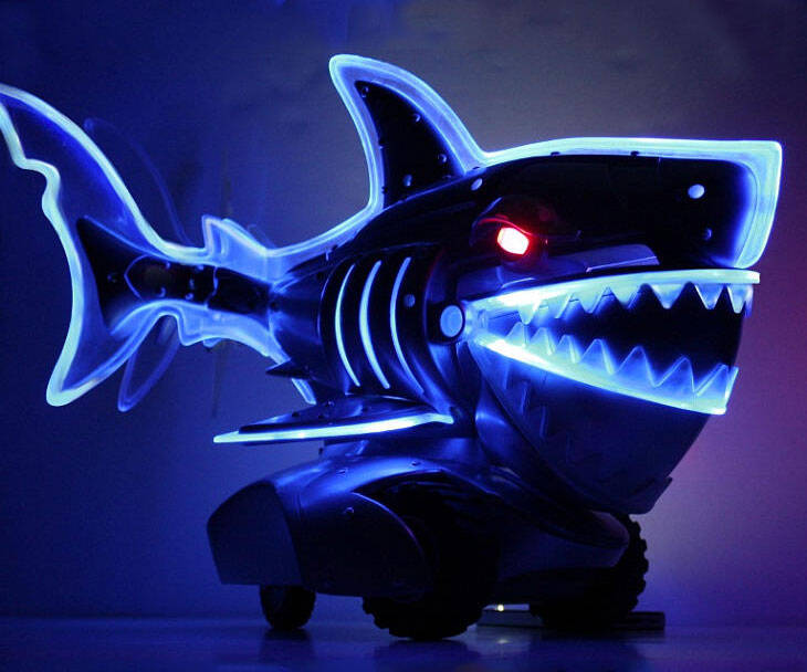 Light Up Radio Control Shark - http://coolthings.us