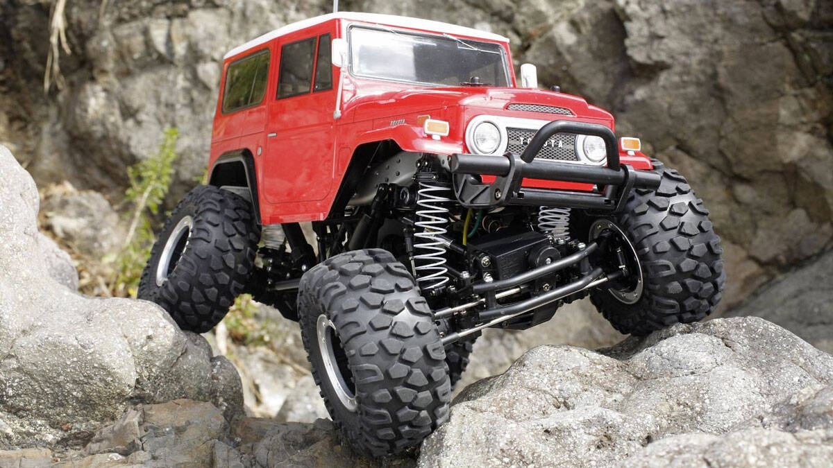 RC Toyota Land Cruiser - coolthings.us