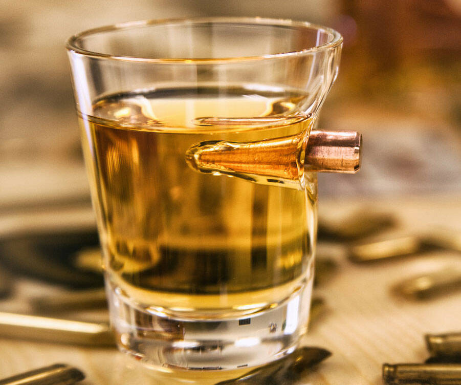 .308 Real Bullet Shot Glass - http://coolthings.us